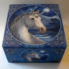 Sacred One Mirror Box.Featuring artwork from Lisa Parker.